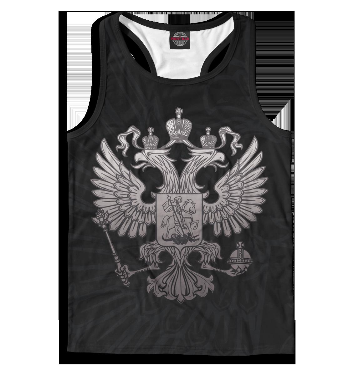 Майка борцовка мужская Двуглавый орел