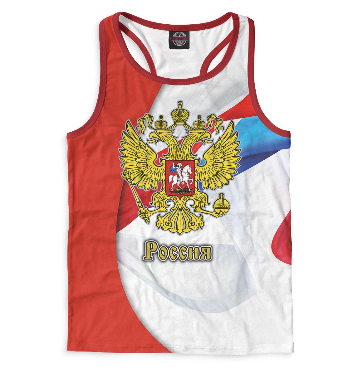 Майка борцовка мужская Сборная России