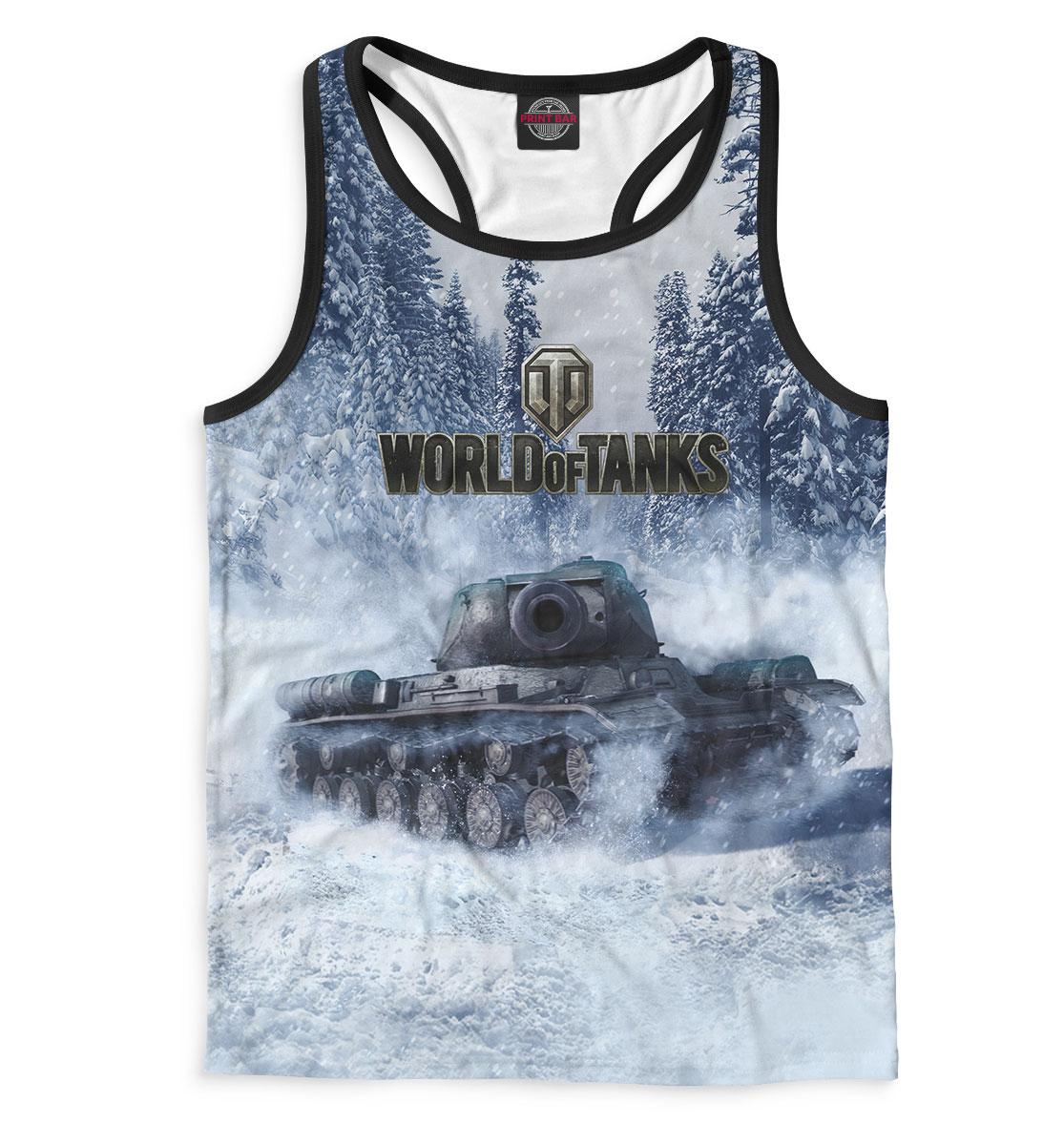 Майка борцовка мужская World of Tanks (2822)