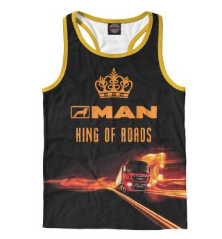 Майка борцовка мужская MAN - король дорог