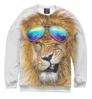 Свитшот  мужской Лев в очках (291)