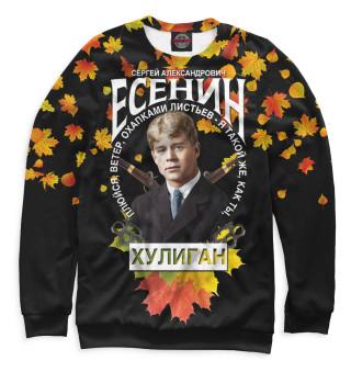 Свитшот  мужской Сергей Есенин