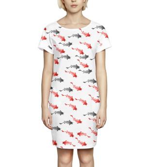 Платье летнее  Рыба
