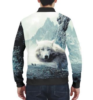 Бомбер мужский Волки (3652)
