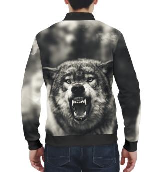 Бомбер мужский Волк (2184)