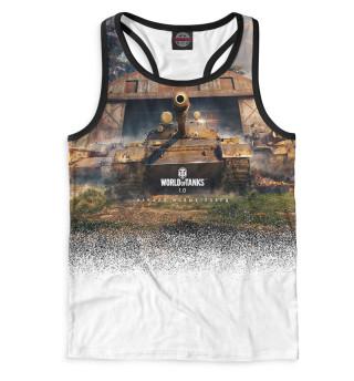 Майка борцовка мужская World of Tanks (4595)
