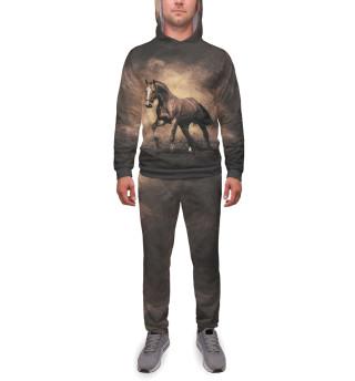 Спортивный костюм  мужской Лошади