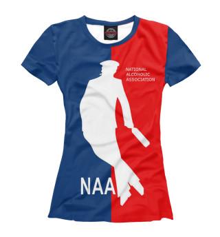 Футболка женская NAA