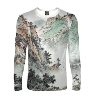 Лонгслив  мужской Горы Китая