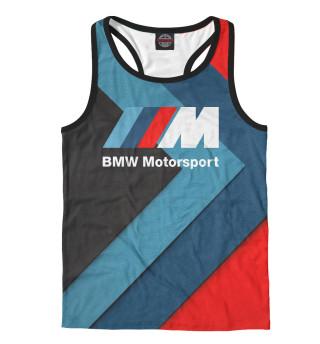 Майка борцовка мужская BMW Motorsport (2687)