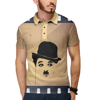 Поло мужское Чарли Чаплин (3268)