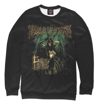 Свитшот  женский Cradle of Filth: Eleven Burial Masses