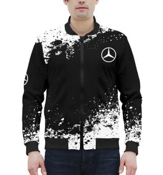 Бомбер мужский Mercedes-Benz abstract sport uniform
