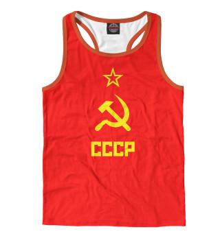 Майка борцовка мужская СССР (834)
