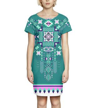 Платье летнее  Абстракция (3085)