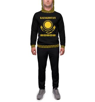 Спортивный костюм  мужской Казахстан (3660)