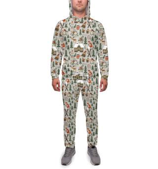 Спортивный костюм  мужской Winter holidays