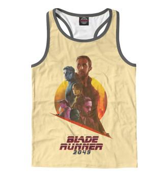 Майка борцовка мужская Blade runner 2049
