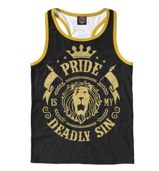 Майка борцовка мужская Pride is my sin