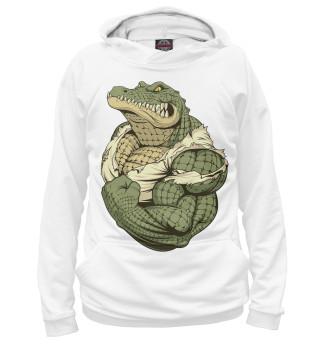 Худи мужское Крокодил (3575)