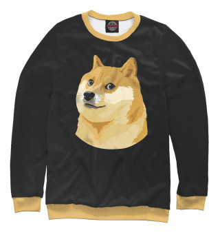 Свитшот  женский Собака Мем