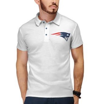 Поло мужское New England Patriots