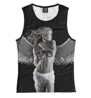 Майка женская Девушка - ангел