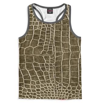 Майка борцовка мужская Крокодил (8336)