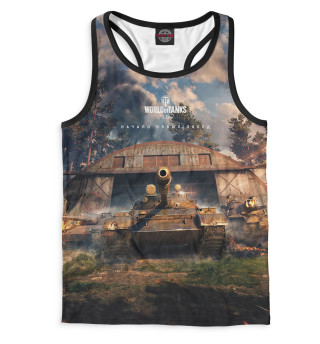 Майка борцовка мужская World of Tanks (3964)