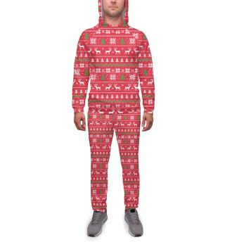 Спортивный костюм  мужской Новый Год (8978)