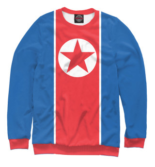 Свитшот  мужской Флаг Северной Кореи
