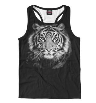 Майка борцовка мужская Амурский тигр