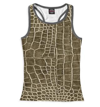 Майка борцовка женская Крокодил (2451)