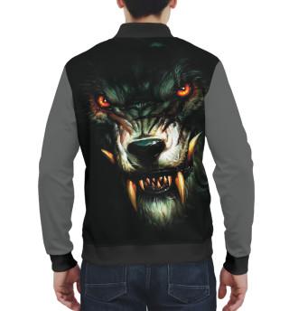 Бомбер мужский Волк (9651)
