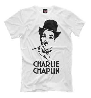 Футболка мужская Чарли Чаплин (3098)