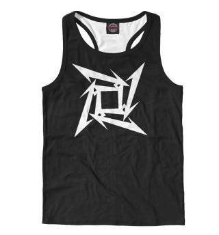 Майка борцовка мужская Metallica Symbol